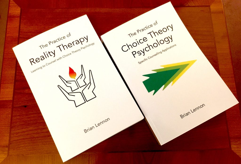Two books, The Practice of Reality Therapy and The Practice of Choice Theory Psychology